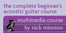 Beginners Acoustic Guitar Course