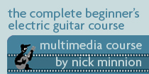 Beginners Electric Guitar Course