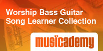 Worship Bass Guitar Song Learner Collection