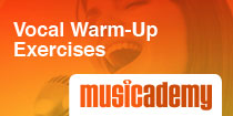 Vocals warm-up exercises