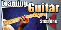 Learning Guitar Step 1
