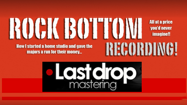 Rock Bottom Recording ebook